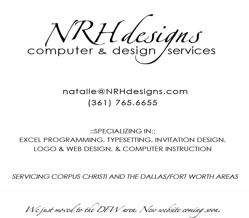 NRHdesign services